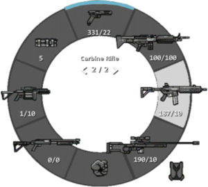 Weapon Selection Wheel
