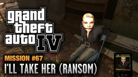 GTA 4 - Mission 67 - I'll Take Her Ransom (1080p)