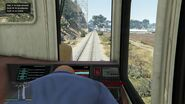 Train GTAVe Driver View