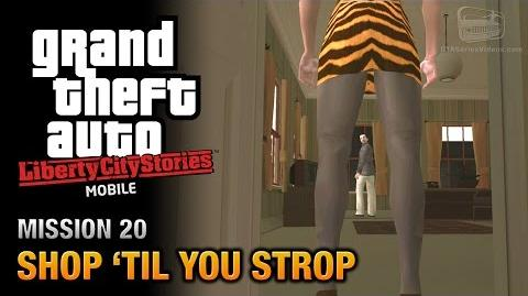 GTA Liberty City Stories Mobile - Mission 20 - Shop 'til you Strop