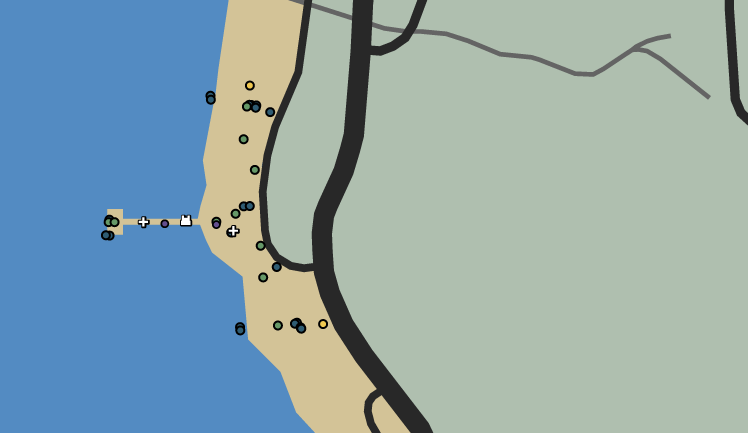 Salty Snatch Capture-Contend GTAO Map
