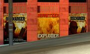 Evacuator posters