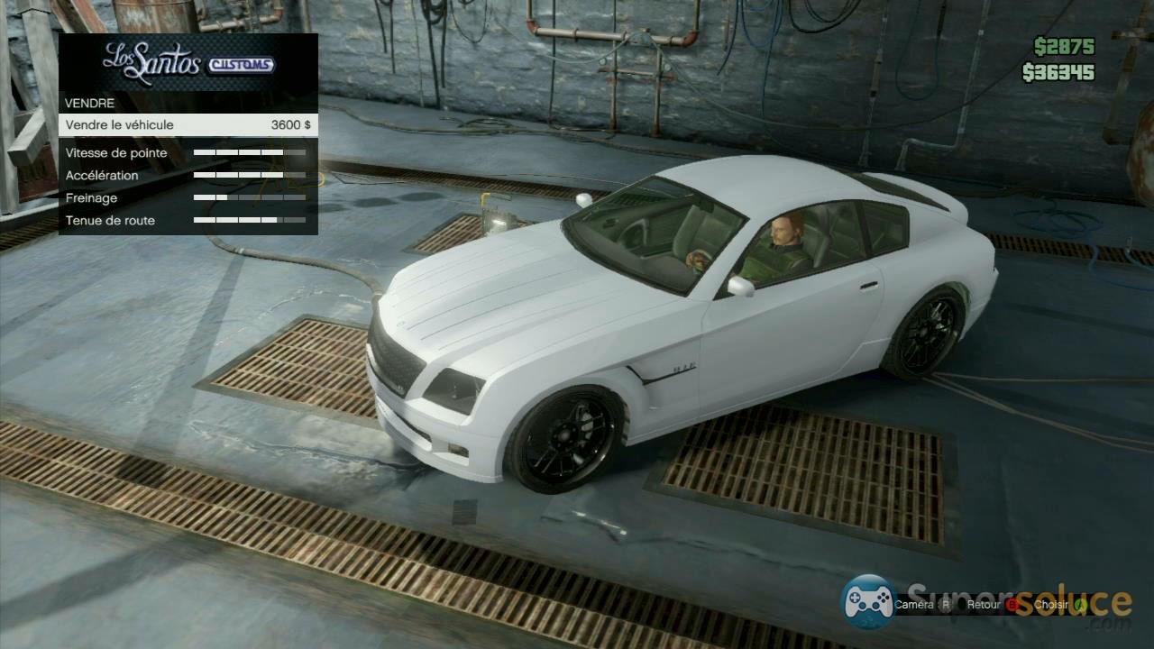 Gta 5 vendre voiture de sport for Voiture garage gta 5
