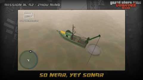 GTA Chinatown Wars - Walkthrough - Mission 42 - So Near, Yet Sonar