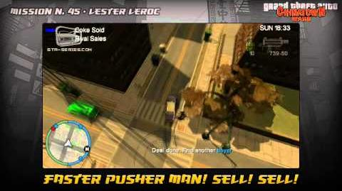 GTA Chinatown Wars - Walkthrough - Mission 45 - Faster Pusher Man! Sell! Sell!