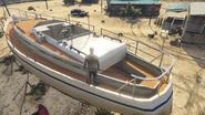Desert Yacht GTAVpc Scale View