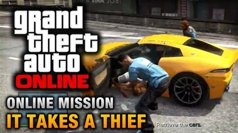 GTA Online - Mission - It Takes a Thief Hard Difficulty