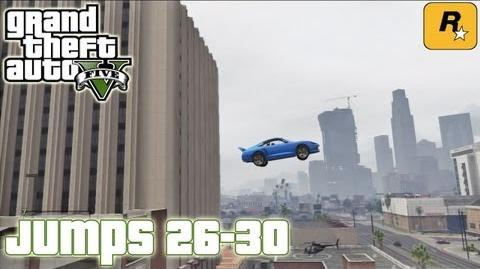 GTA5 Stunt Jumps 26-30 (Tutorial) Grand Theft Auto V PS3 Xbox 360 ᴴᴰ