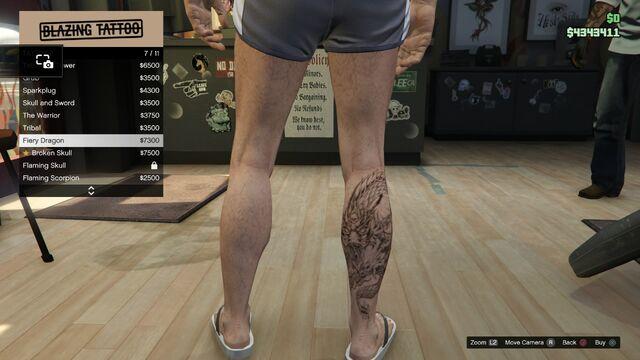File:Tattoo GTAV Online Male Right Leg Fiery Dragon.jpg