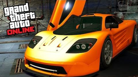 GTA Online Cunning Stunt Special Vehicle Circuit - Progen GP1
