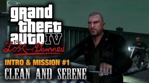GTA The Lost and Damned - Intro & Mission 1 - Clean and Serene (1080p)