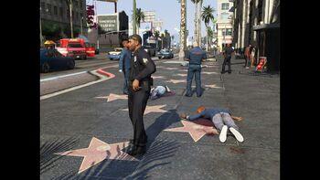 LSPD Crime Scene -GTAV