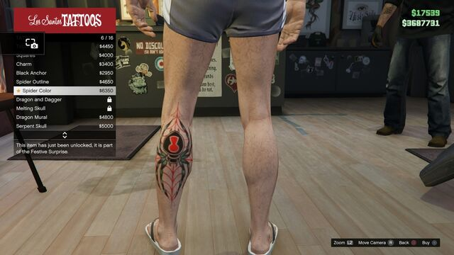 File:Tattoo GTAV Online Male Left Leg Spider color.jpg