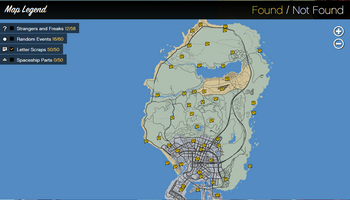 Letter Scraps GTAVe Official-Map