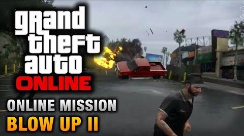 GTA Online - Mission - Blow Up II Hard Difficulty