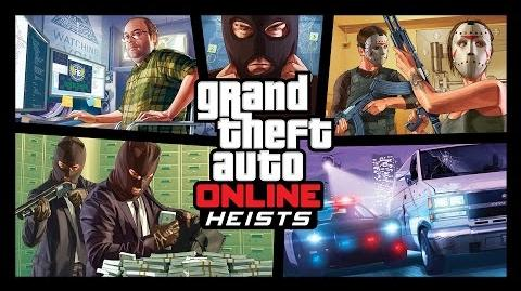 Grand Theft Auto Online – Heists Trailer