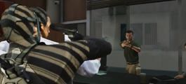Michael threatening the target-GTAV
