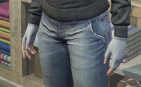 GTAO Gloves Female GrayWool