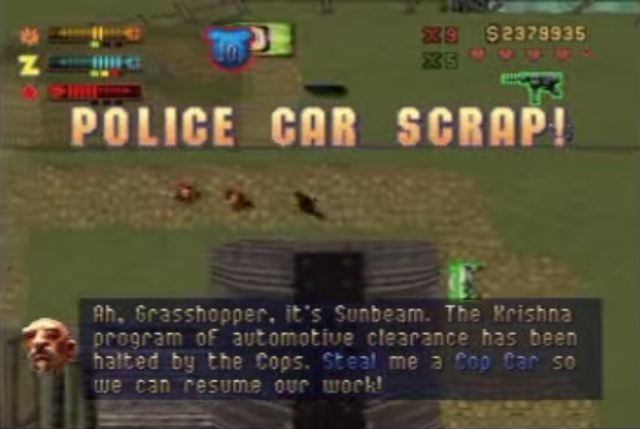 File:PoliceCarScrap-Mission-GTA2.png