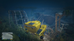 Wreck Skeletal Ship GTAV View2