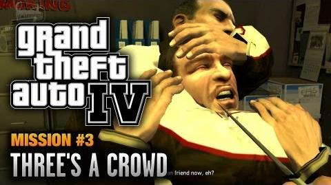 GTA 4 - Mission 3 - Three's a Crowd (1080p)