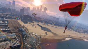 Parachuting-GTAO