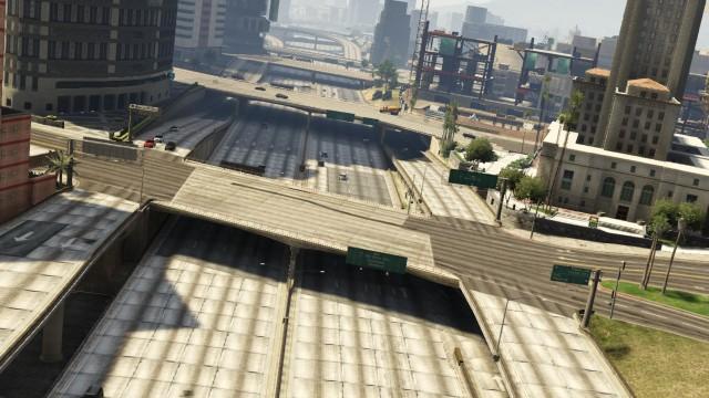 File:4 Overpasses over Interstate 2.jpg