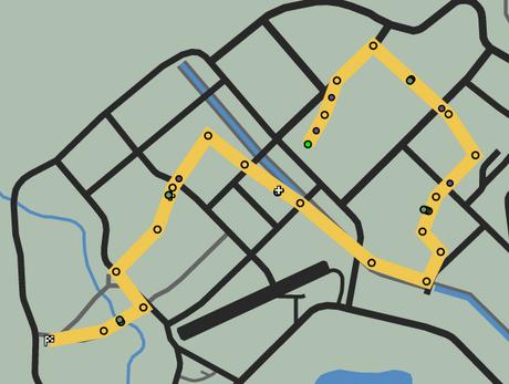 Barnstorming GTAO Race Map
