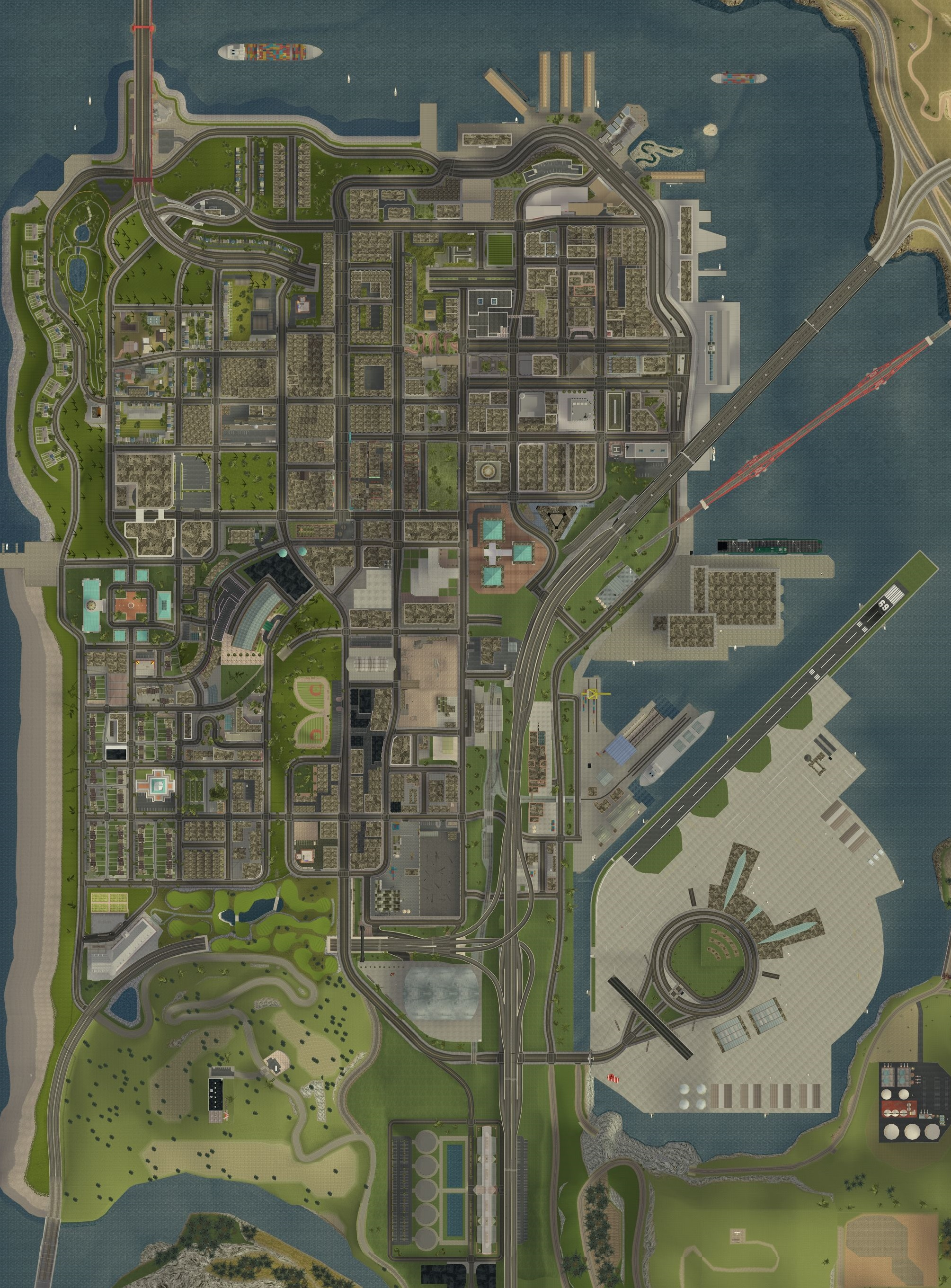 San Fierro - WikiGTA - The Complete Grand Theft Auto Walkthrough