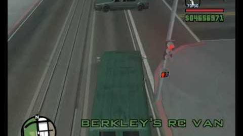 GTA San Andreas - acquire Berkley's RC Van without cheats