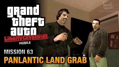 GTA Liberty City Stories Mobile - Mission 63 - Panlantic Land Grab