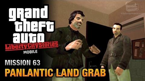 GTA Liberty City Stories Mobile - Mission 63 - Panlantic Land Grab
