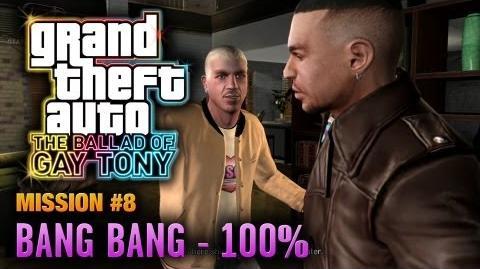 GTA The Ballad of Gay Tony - Mission 8 - Bang Bang 100% (1080p)