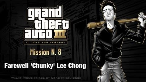 GTA 3 - iPad Walkthrough - Mission 8 - Farewell 'Chunky' Lee Chong