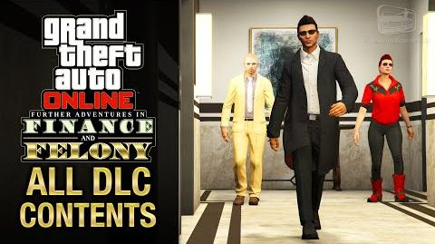GTA Online - Finance and Felony All DLC Contents