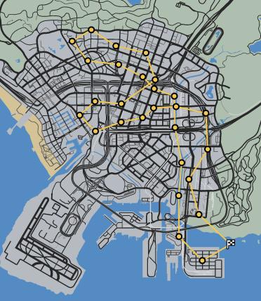 In The Wings GTAOe Race Map