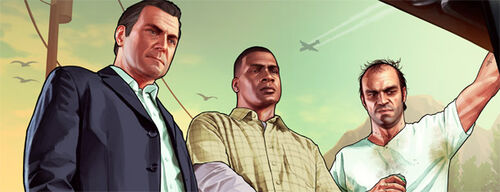 Michael Franklin and Trevor IGN artwork
