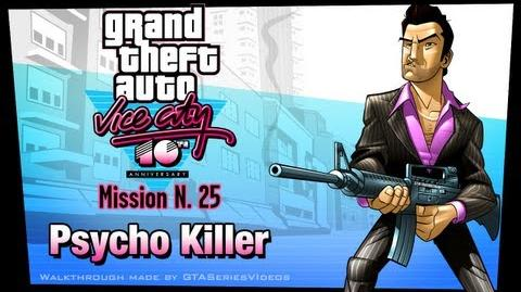 GTA Vice City - iPad Walkthrough - Mission 25 - Psycho Killer