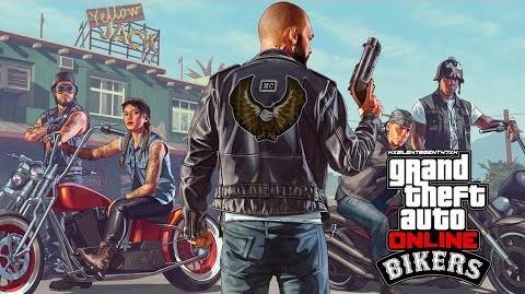 Grand Theft Auto GTA V 5 Online Bikers - Adversary Adv