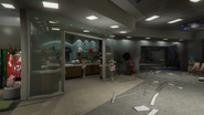 Pillbox Hill Medical Center Destroyed Shop GTAV
