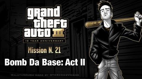GTA 3 - iPad Walkthrough - Mission 21 - Bomb Da Base Act II
