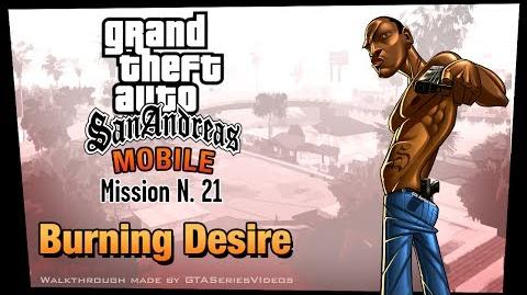 GTA San Andreas - iPad Walkthrough - Mission 21 - Burning Desire (HD)