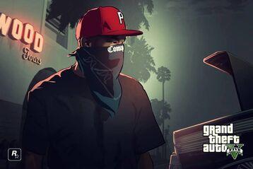 Red gta gangster