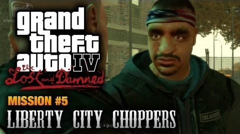 GTA The Lost and Damned - Mission 5 - Liberty City Choppers (1080p)
