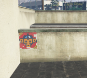 Monkey Mosaics GTAV Davis orange