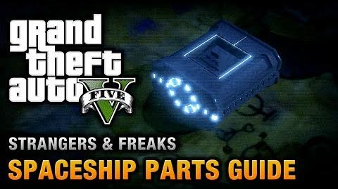 GTA 5 - Spaceship Parts Location Guide From Beyond the Stars Achievement Trophy