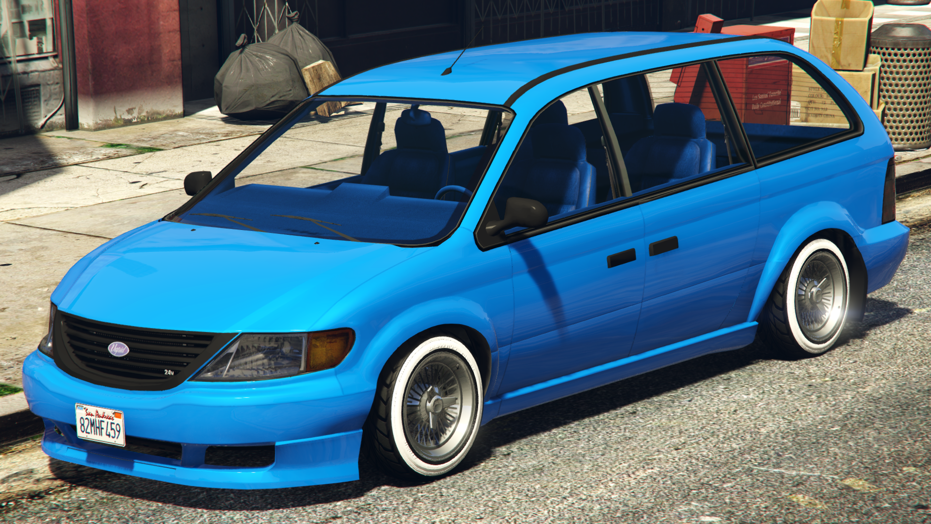GTA 5 MINIVAN CUSTOM - YouTube