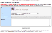 Neomail reply form