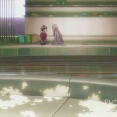 Mana tells Shu that she wants to marry him