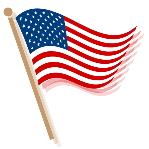 Image - American-flag-clip-art-waving-waves.png | Gun Club Wiki ...